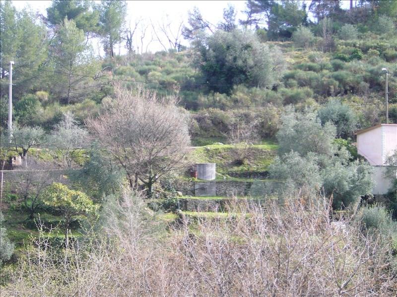 Vente terrain Gorbio 220000€ - Photo 1