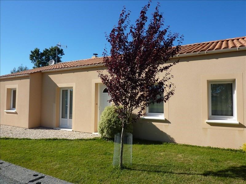 Vente maison / villa Commequiers 213000€ - Photo 1