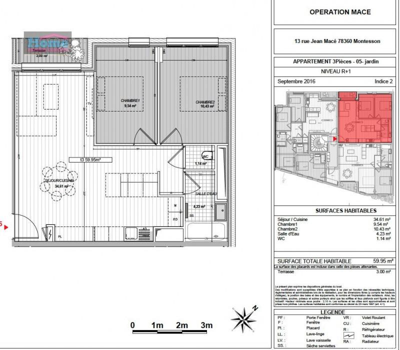 Vente appartement Montesson 320380€ - Photo 5