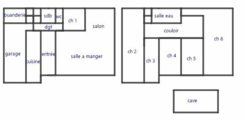 Vente maison / villa Coye la foret 430000€ - Photo 8