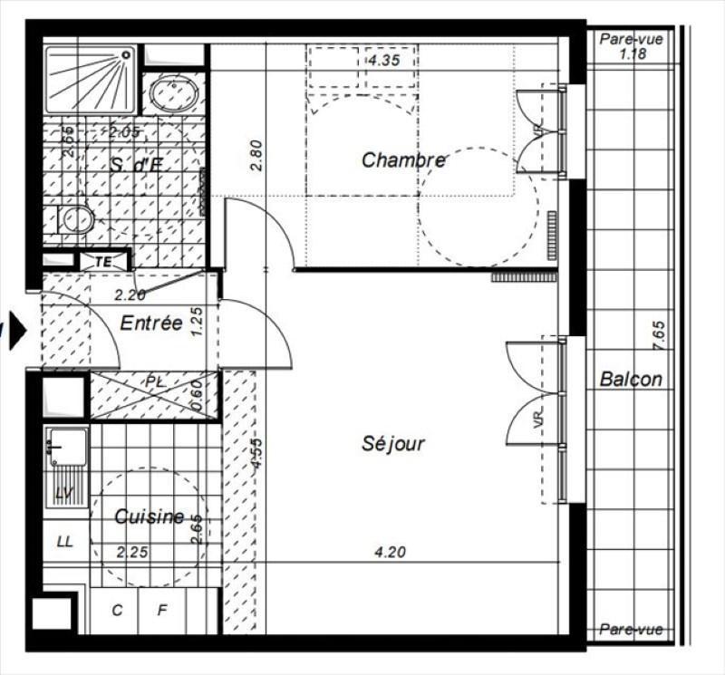 Vente appartement Lognes 211000€ - Photo 1