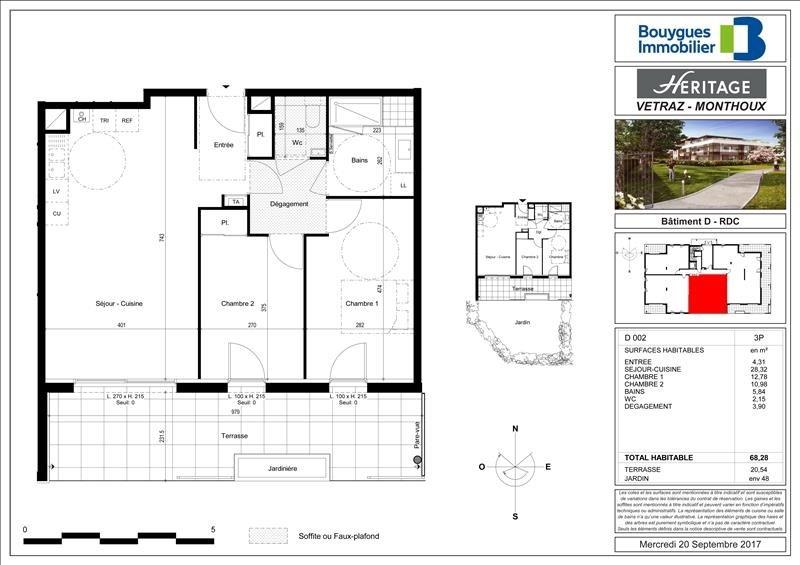 Vente appartement Vetraz monthoux 394000€ - Photo 2