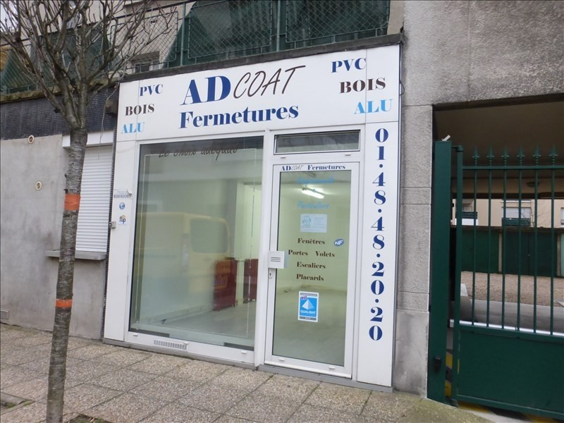 Vente local commercial Les pavillons sous bois 96 000€ - Photo 1