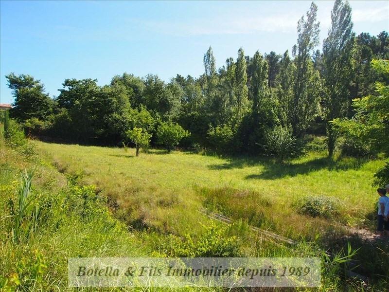 Verkoop  stukken grond Barjac 57000€ - Foto 2