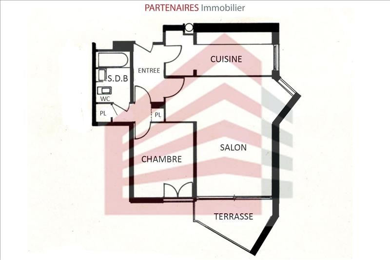 Sale apartment Le chesnay 239 000€ - Picture 1