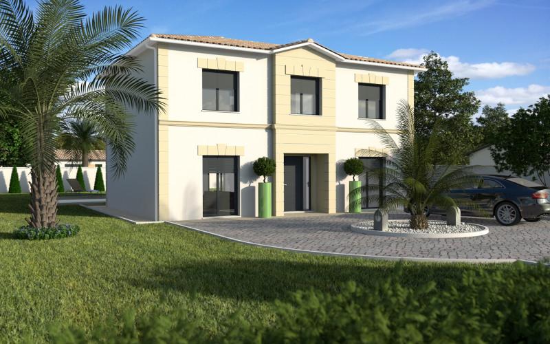 """Modèle de maison  """"Maison étage Bastide 126m²"""" à partir de 5 pièces Dordogne par MAISONS ECG"""