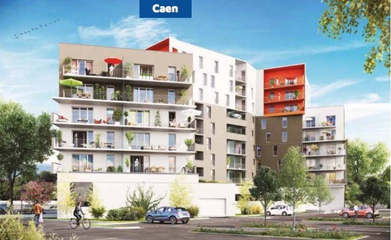 vente neuf programme caen m euros edm immobilier. Black Bedroom Furniture Sets. Home Design Ideas