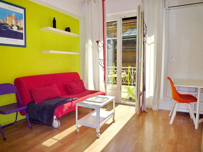 Rental apartment Nice 540€ CC - Picture 1