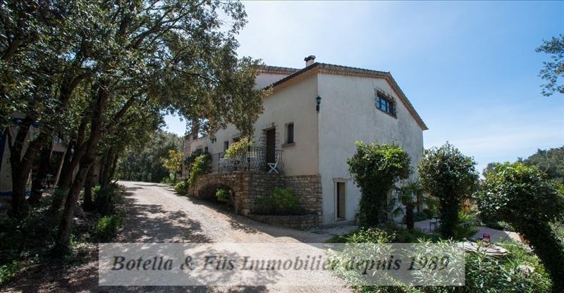 Venta  casa Barjac 472500€ - Fotografía 1