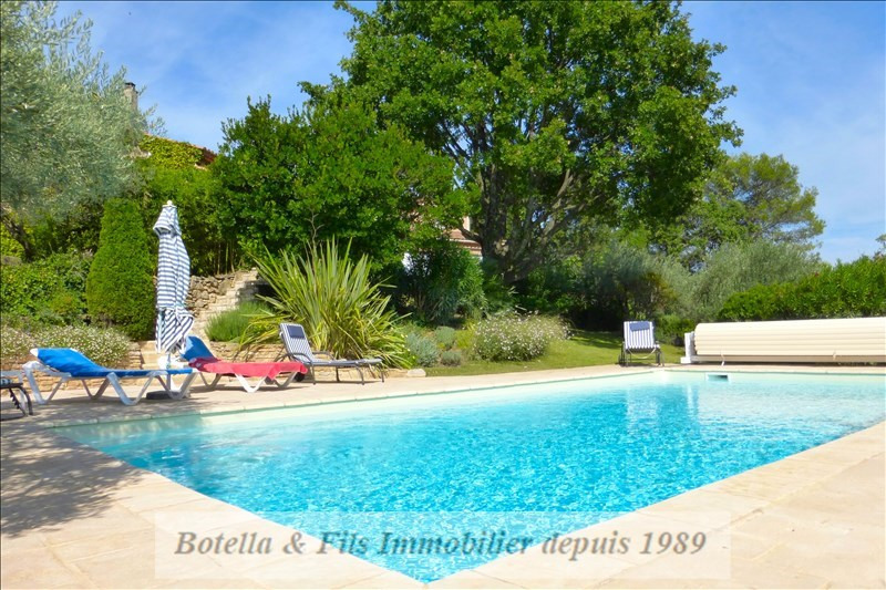 Vente maison / villa Goudargues 600000€ - Photo 2