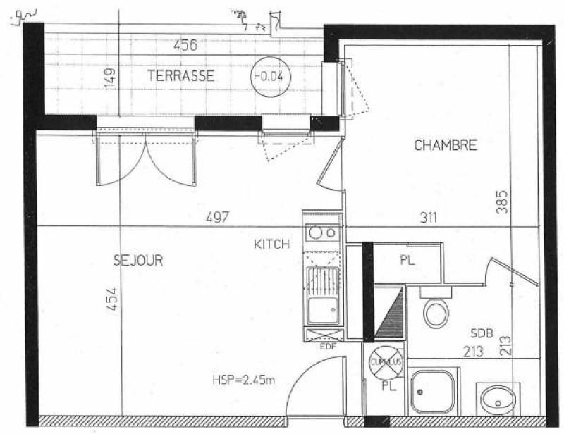 Rental apartment Toulouse 484€ CC - Picture 10