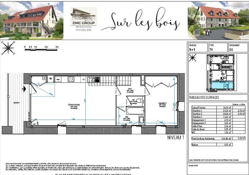 Deluxe sale apartment Annecy 630000€ - Picture 3