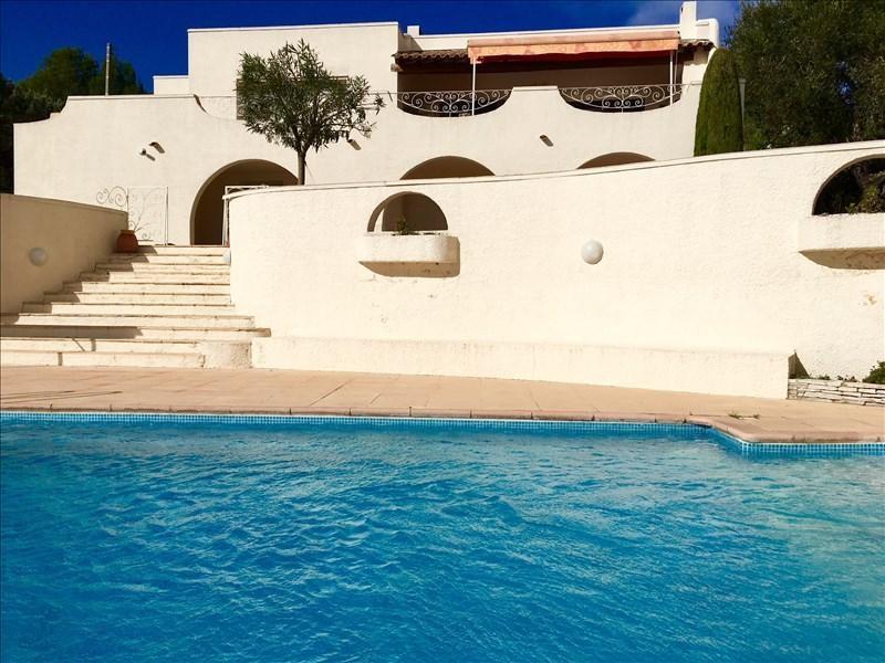 Deluxe sale house / villa Poussan 680000€ - Picture 1