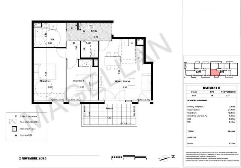 Sale apartment Montpellier 205000€ - Picture 3