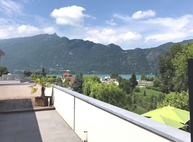 Vente de prestige appartement Aix les bains 655000€ - Photo 2