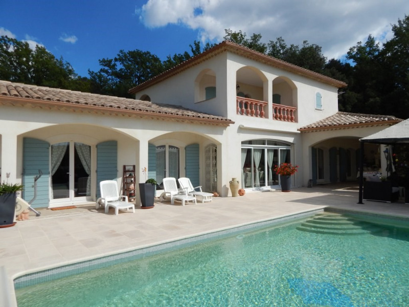 Vente de prestige maison / villa Villecroze 846300€ - Photo 1