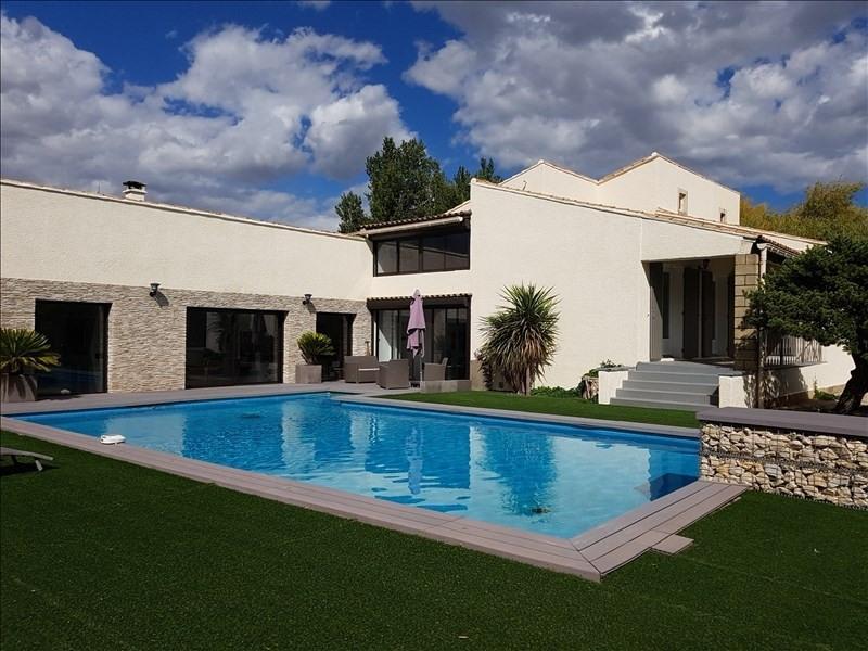 Vente de prestige maison / villa Courthezon 599500€ - Photo 1