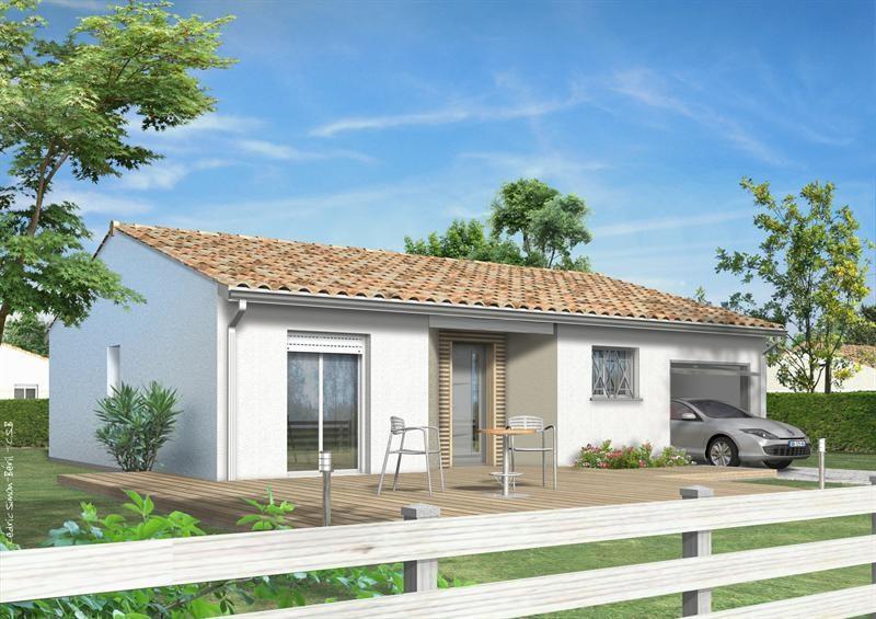 Maison  5 pièces + Terrain 1500 m² Saint Martin d'Oney (40090) par LES MAISONS LCA MONT DE MARSAN