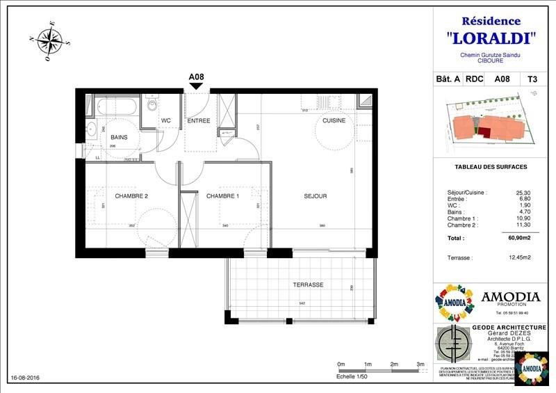 Sale apartment Ciboure 199000€ - Picture 2