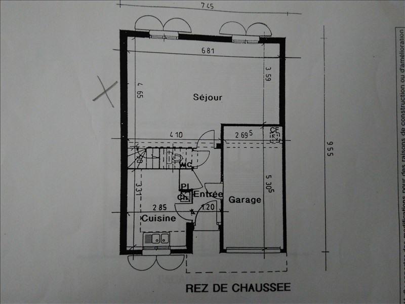 Vente maison / villa Magny le hongre 399000€ - Photo 10
