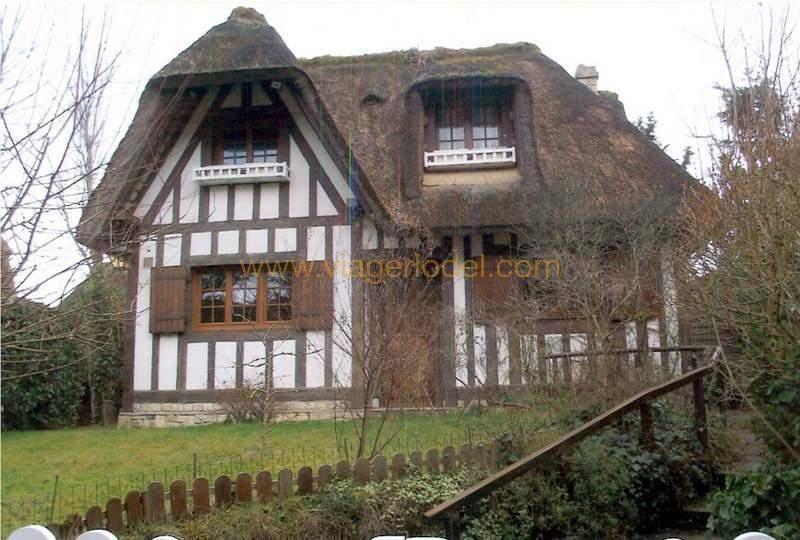 Vendita nell' vitalizio di vita casa Tourgeville 420000€ - Fotografia 1