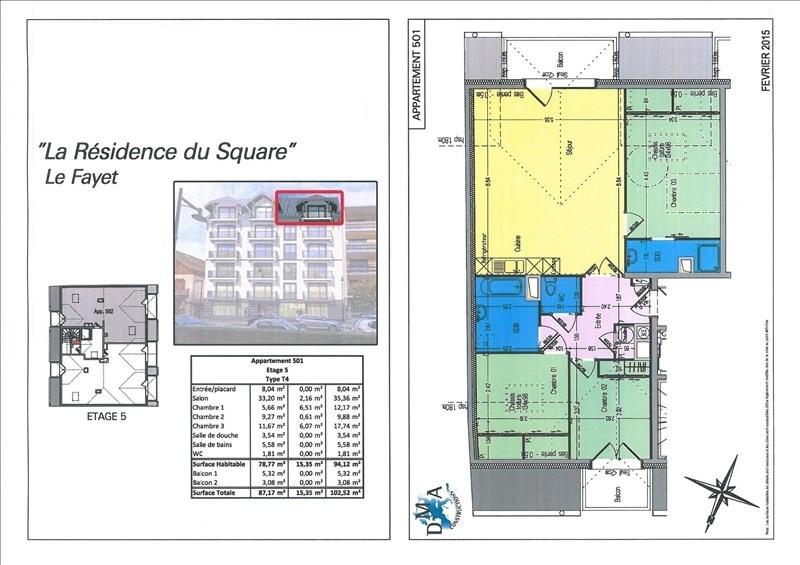 Sale apartment Le fayet 229000€ - Picture 2