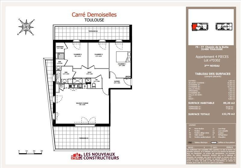Vente appartement Toulouse 378800€ - Photo 8