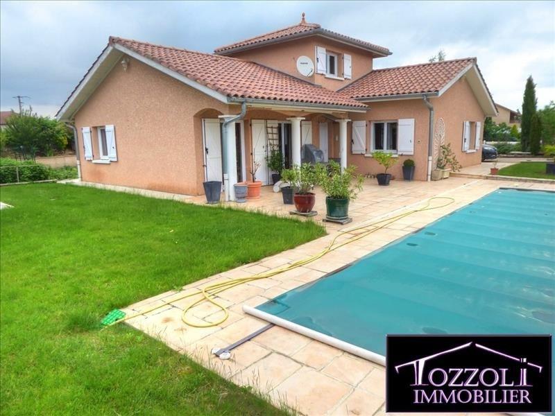 Vente maison / villa Villemoirieu 341000€ - Photo 6