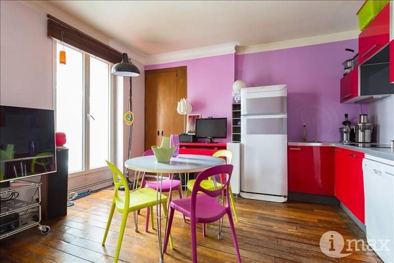 Sale apartment Paris 18ème 325000€ - Picture 2