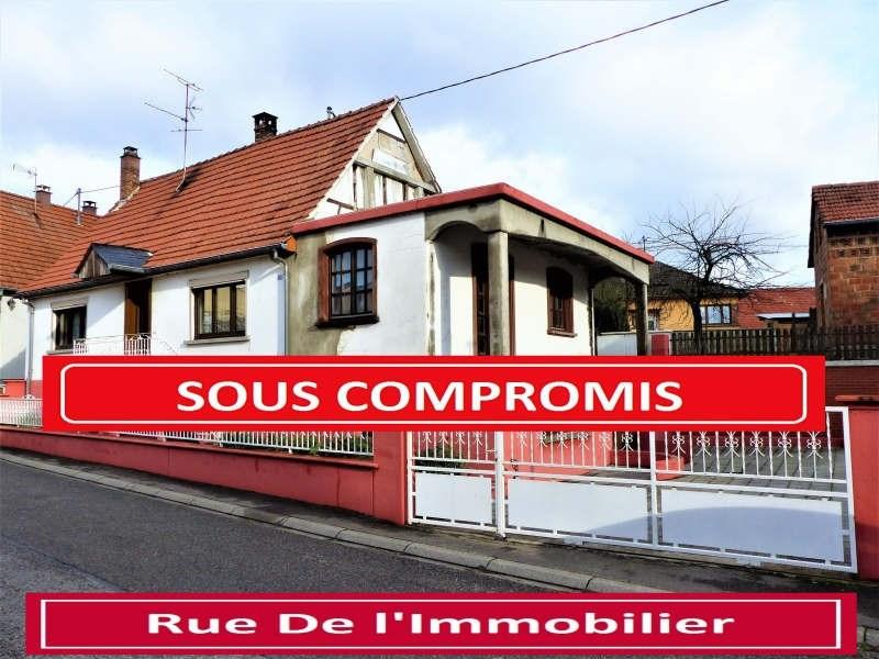 Sale house / villa Weitbruch 134890€ - Picture 1