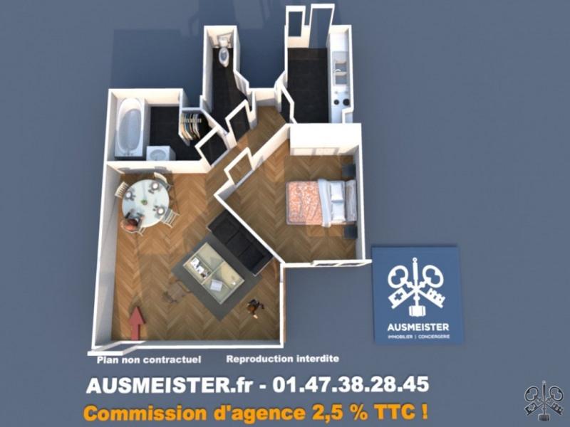 Sale apartment Neuilly sur seine 565000€ - Picture 1