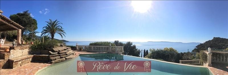 Deluxe sale house / villa Rayol canadel sur mer 2750000€ - Picture 1