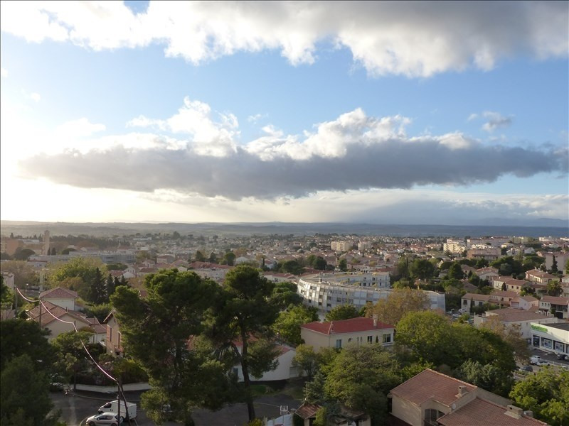 Sale apartment Beziers 85 500€ - Picture 1