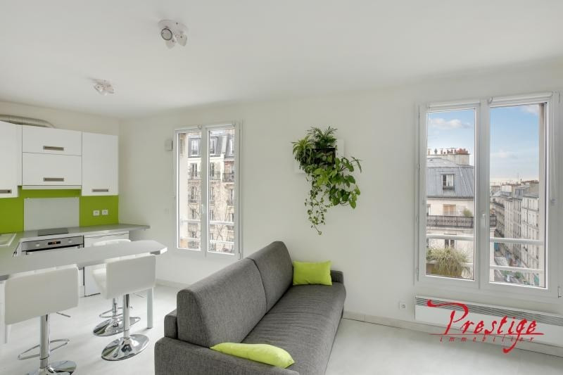 Sale apartment Paris 18ème 225 000€ - Picture 1