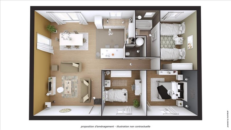 Vente maison / villa Mirabeau 256000€ - Photo 4