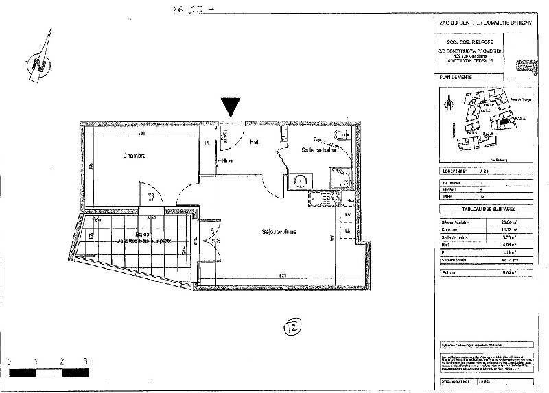 Rental apartment Irigny 610€ CC - Picture 5