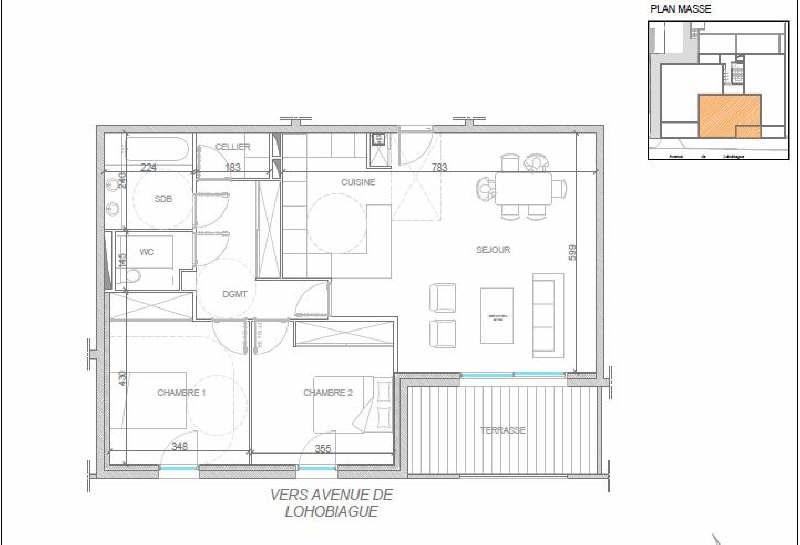 Deluxe sale apartment St jean de luz 765000€ - Picture 2