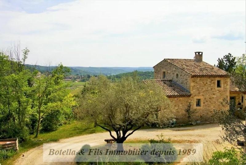 Deluxe sale house / villa Goudargues 649000€ - Picture 1