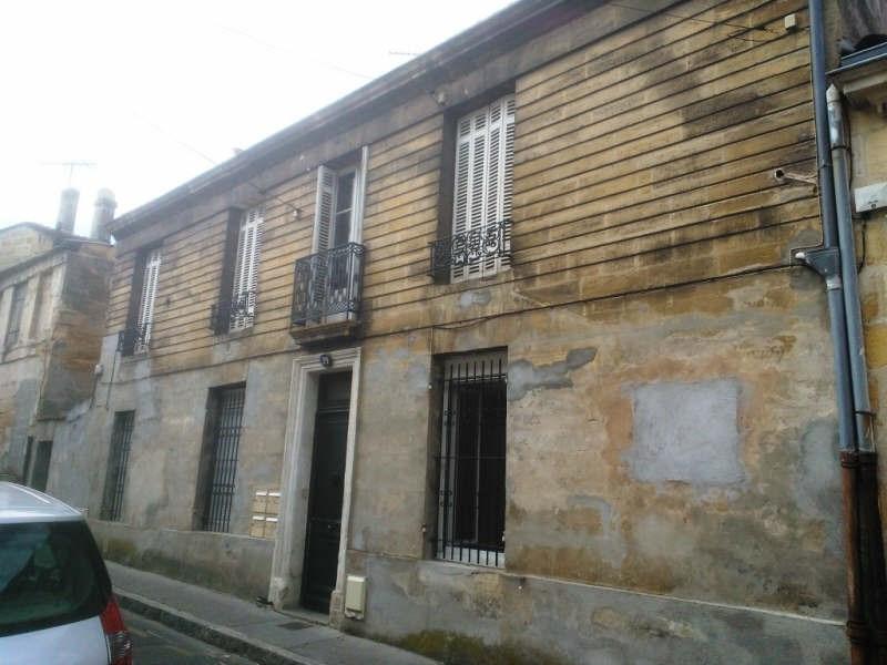 Sale building Bordeaux 472000€ - Picture 1