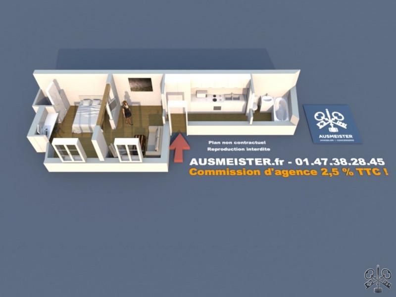 Sale apartment Paris 10ème 395000€ - Picture 2