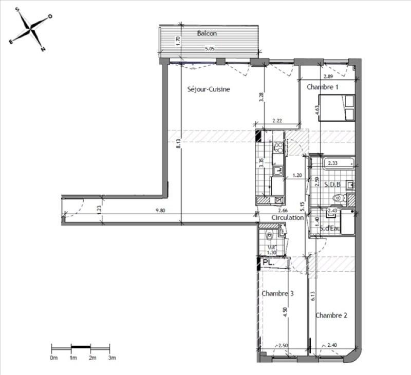 Sale apartment Suresnes 835000€ - Picture 1