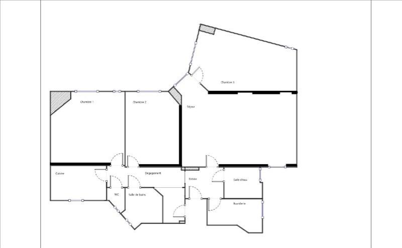 Venta  apartamento Paris 18ème 699000€ - Fotografía 5