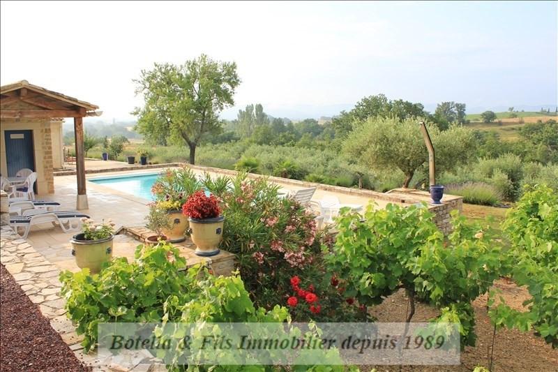 Verkauf von luxusobjekt haus Barjac 695000€ - Fotografie 10