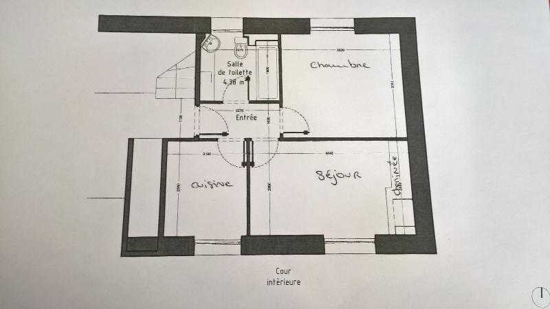 Location appartement Paris 18ème 1100€ CC - Photo 2