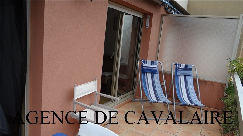Investment property apartment Cavalaire 163000€ - Picture 1