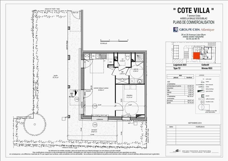 Vente appartement La baule escoublac 190000€ - Photo 5