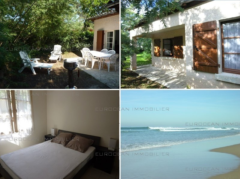Location vacances maison / villa Lacanau-ocean 525€ - Photo 1