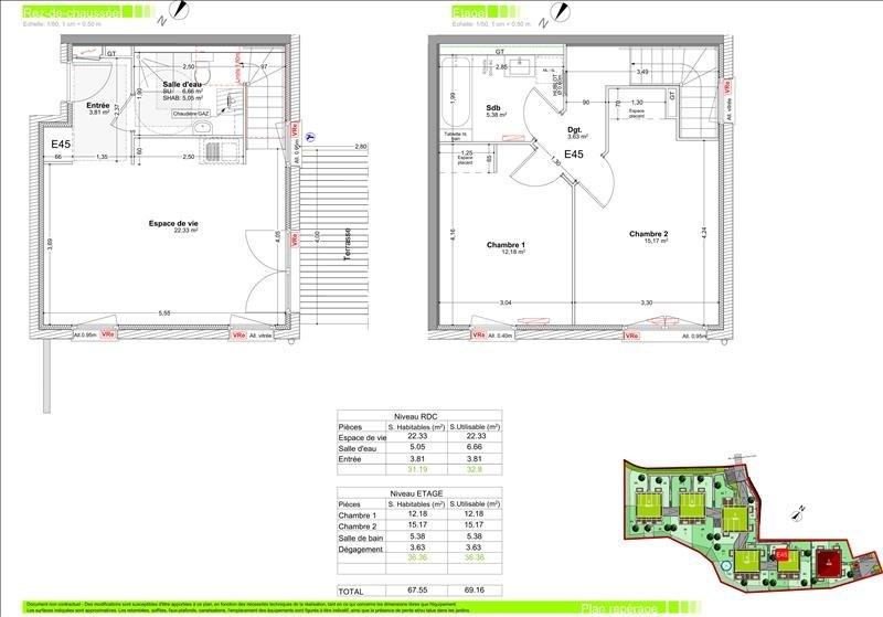 Sale apartment Gaillard 285000€ - Picture 2