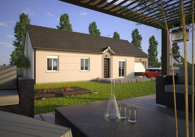 Maison  5 pièces + Terrain 800 m² Brou par MAISONS D'EN FRANCE