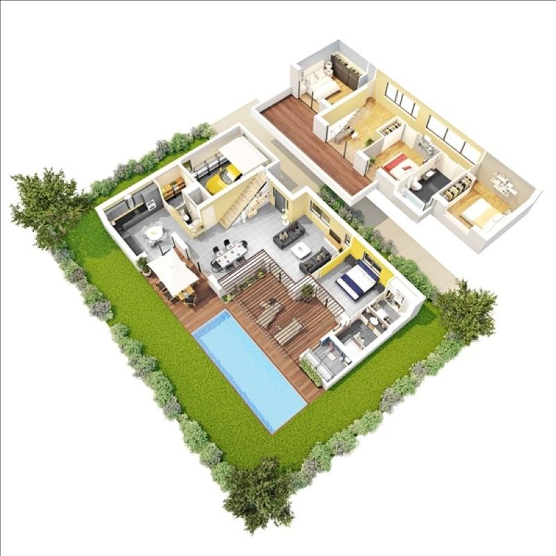 Deluxe sale house / villa Escalquens 498000€ - Picture 2